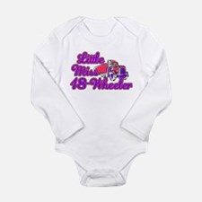 Little Miss 18-Wheeler Long Sleeve Infant Bodysuit