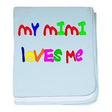 My Mimi Loves Me! (Croobie) Infant Blanket