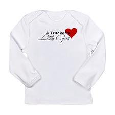 Trucker's Little Girl Long Sleeve Infant T-Shirt