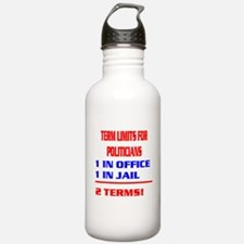 Funny Term limits Water Bottle