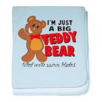 Big Teddy Bear baby blanket