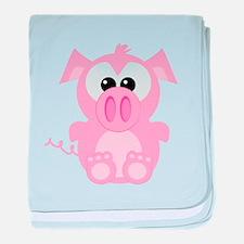 Goofkins Cute Little Piggy Infant Blanket