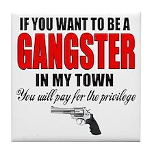 Gangster Tile Coaster
