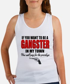 Gangster Women's Tank Top
