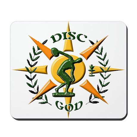 Disc God Mousepad