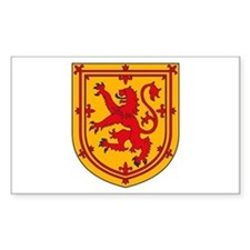 Scottish Coat of Arms Rectangle Bumper Stickers