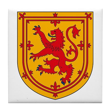 Scottish Coat of Arms Tile Coaster