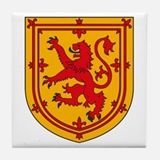 Scottish Coat of Arms Tile Coaster