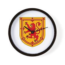Scottish Coat of Arms Wall Clock
