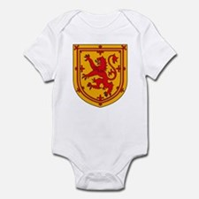 Scottish Coat of Arms Infant Creeper