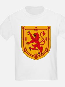 Scottish Coat of Arms Kids T-Shirt