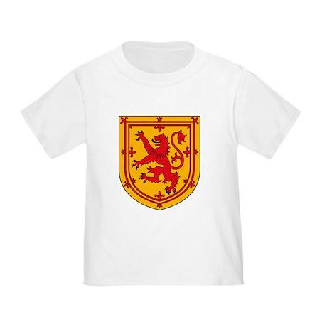 Scottish Coat of Arms Toddler T-Shirt
