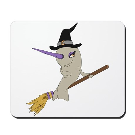 Witch Narwhal Mousepad