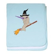 Witch Narwhal Infant Blanket