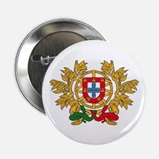 """Portugal Coat of Arms 2.25"""" Button (10 pack)"""