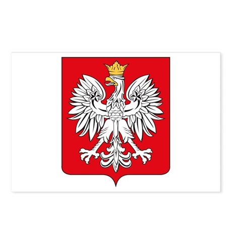 Polish Coat of Arms Postcards (Package of 8)