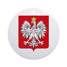 Polish Coat of Arms Ornament (Round)