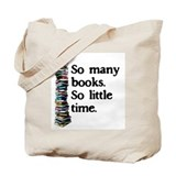 Books Canvas Totes