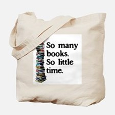 Cute Books Tote Bag