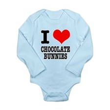 I Heart (Love) Chocolate Bunn Long Sleeve Infant B