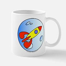 Moon Rocket! Mug
