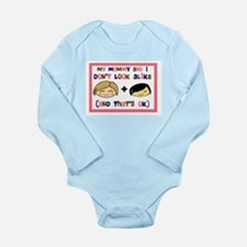 Asian Girl My Mommy and I don Long Sleeve Infant B