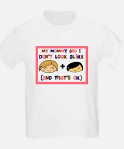 Asian Girl My Mommy and I don T-Shirt