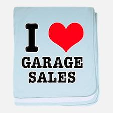 I Heart (Love) Garage Sales Infant Blanket