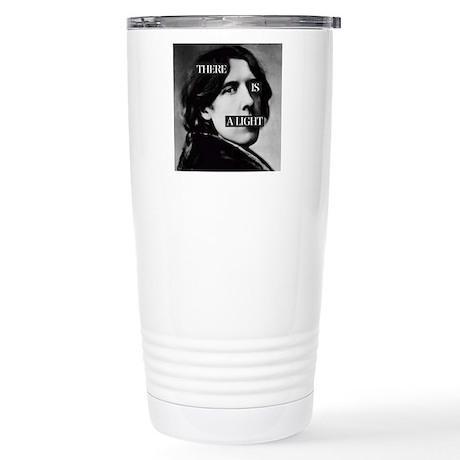 Oscar is a Light Stainless Steel Travel Mug