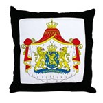 Netherlands Coat of Arms Throw Pillow