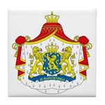 Netherlands Coat of Arms Tile Coaster