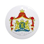 Netherlands Coat of Arms Ornament (Round)
