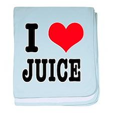 I Heart (Love) Juice Infant Blanket