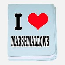 I Heart (Love) Marshmallows Infant Blanket