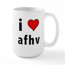 I Love AFV Mug