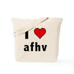 I Love AFV Tote Bag
