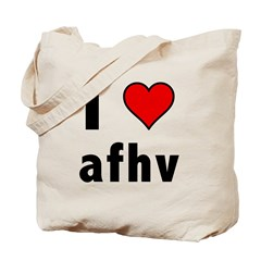 I Love AFV Tote Bag