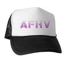 AFHV Pink Logo Trucker Hat