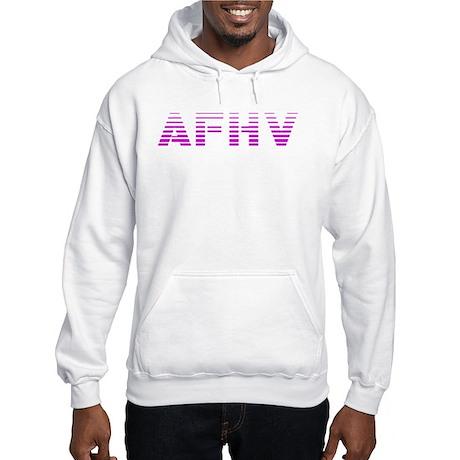 AFHV Pink Logo Hooded Sweatshirt