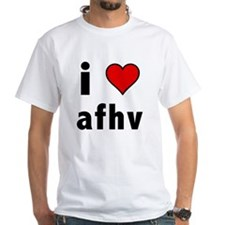 I Love AFV White T-Shirt