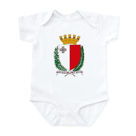 Malta Coat of Arms Infant Creeper