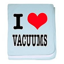 I Heart (Love) Vacuums Infant Blanket