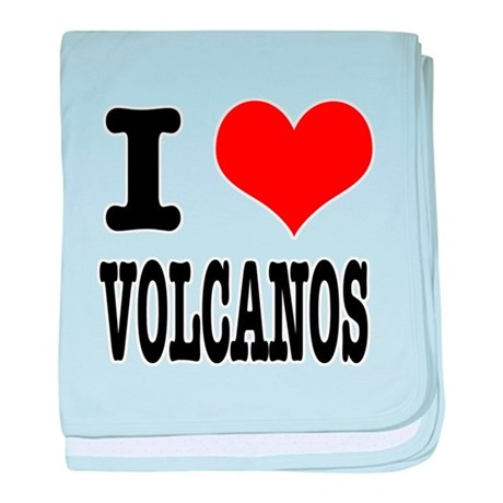 I Heart (Love) Volcanos Infant Blanket