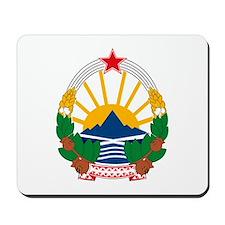 Macedonian Coat of Arms Mousepad