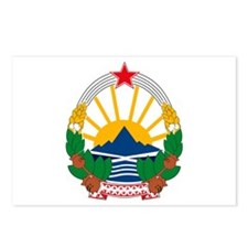 Macedonian Coat of Arms Postcards (Package of 8)