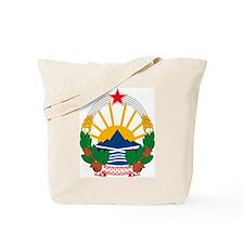 Macedonian Coat of Arms Tote Bag
