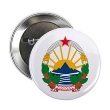 "Macedonian Coat of Arms 2.25"" Button (10 pack)"