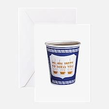 NYC Coffee Cup Greeting Card