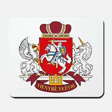 Lithuania Coat of Arms Mousepad