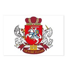 Lithuania Coat of Arms Postcards (Package of 8)